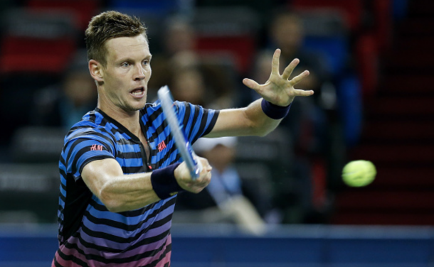 Shanghai Masters: Tomas Berdych Knocks Out Gilles Simon In Straight Sets
