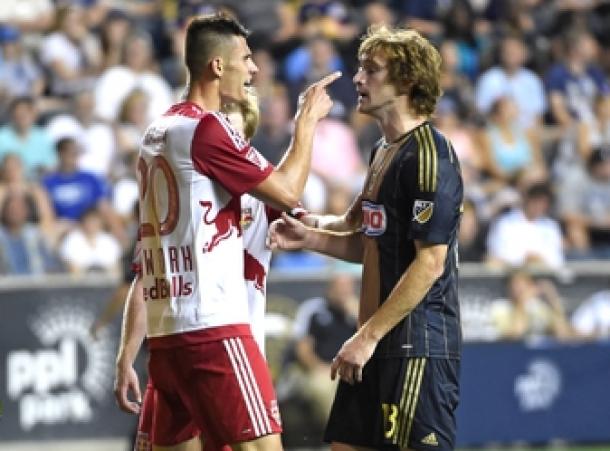 Score Philadelphia Union - New York Red Bulls 2015 MLS Results (1-4)
