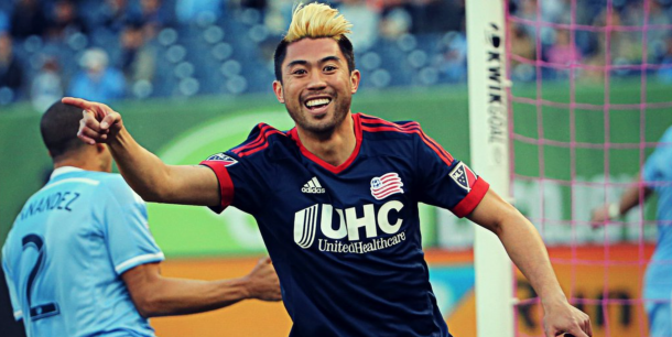 New England Revolution Throttle New York City FC, Clinch 6th Playoff Spot in East