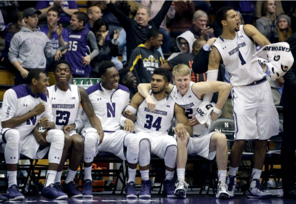 Northwestern Wildcats Come From Behind In Overtime To Beat Columbia Lions.