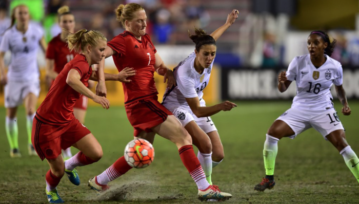 USWNT Downs Germany, Takes First Place In 2016 SheBelieves Cup