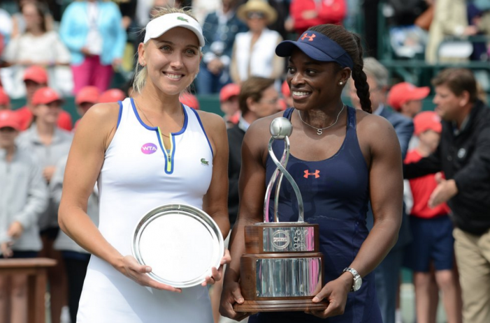 WTA Charleston: Sloane Stephens crowned queen of green clay after high quality final encounter with Elena Vesnina