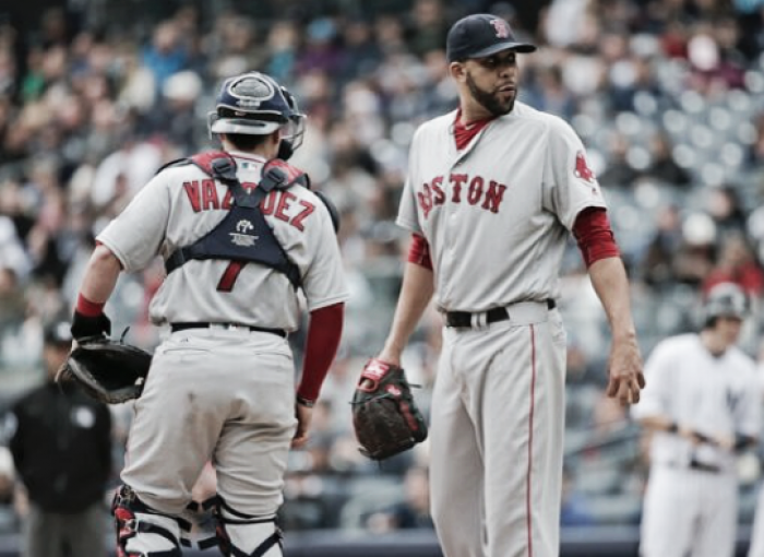 David Price struggles as Boston Red Sox fall to New York Yankees, 8-2