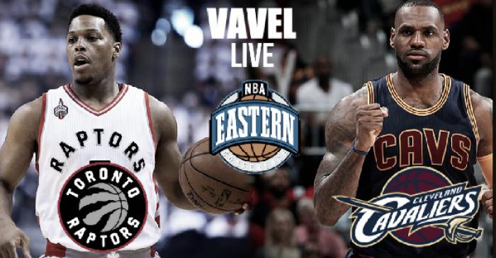 Cleveland Cavaliers x Toronto Raptors pela final na Conferência Leste da NBA