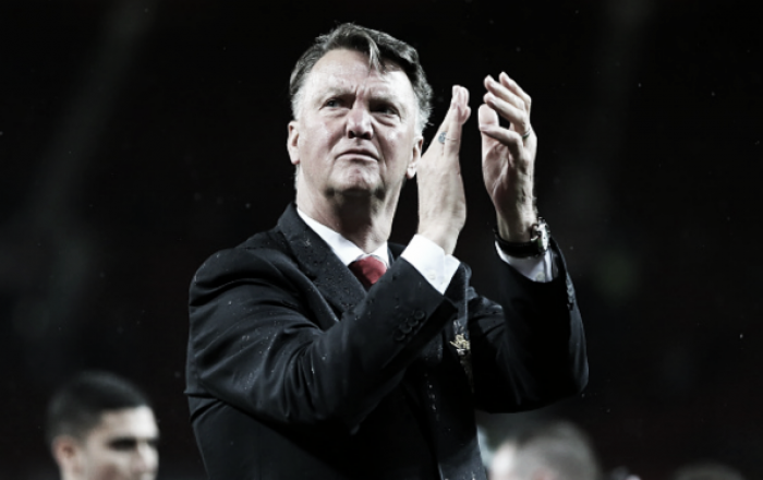 "Louis van Gaal says ""expectations are too high"" from the fans"