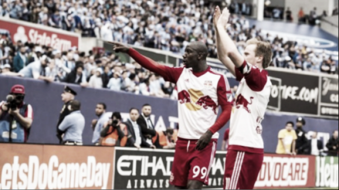 New York City FC 0-7 New York Red Bulls: Visitors leave their bitter rivals red-faced after thrashing