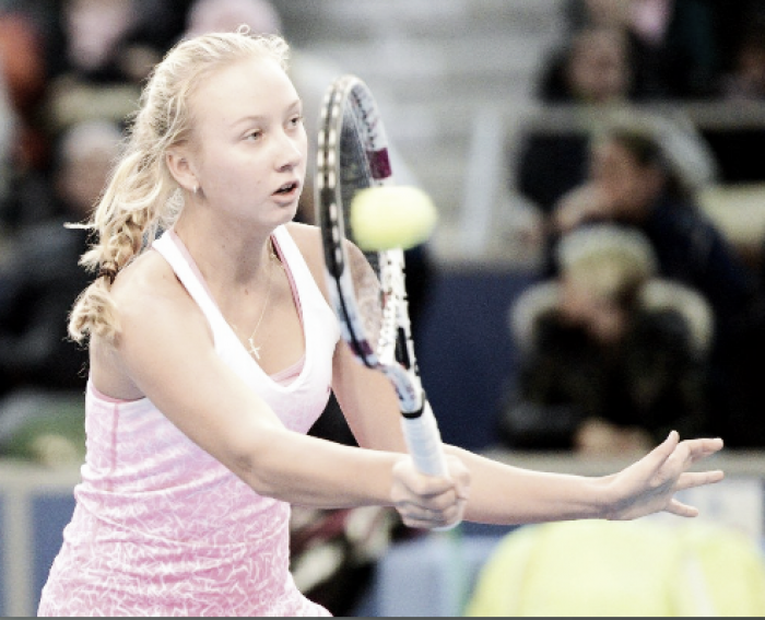 French Open: Anastasia Potapova routines Emily Appelton for place in second round