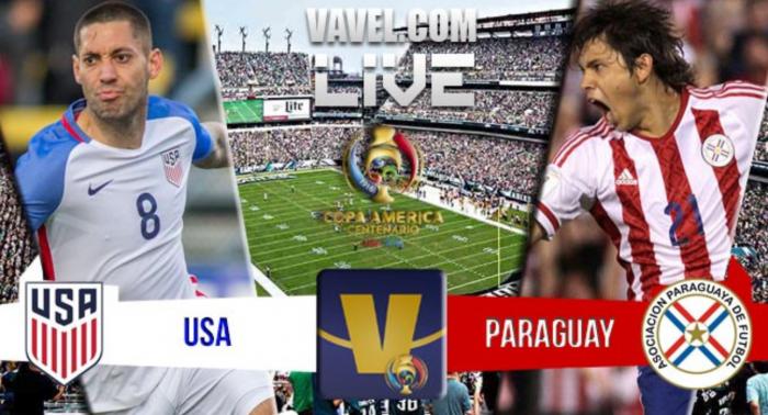 Score USA - Paraguay in Copa America Centenario (1-0)