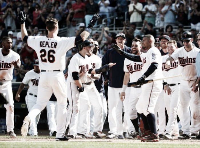 Minnesota Twins' Max Kepler hits walk-off HR in 10th inning to knock off Boston Red Sox, 7-4