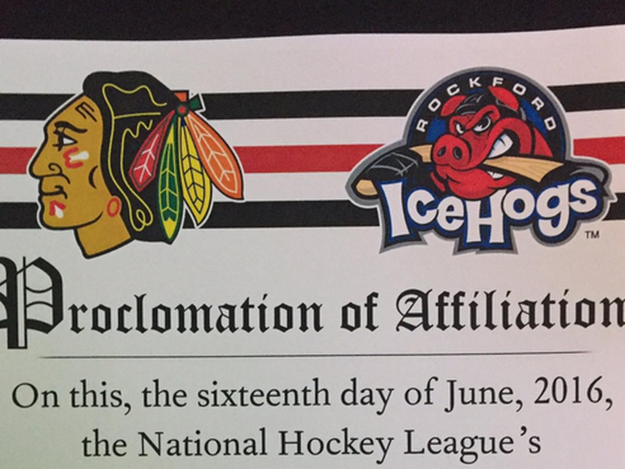 Los Blackhawks compran a su filial AHL, los Rockford IceHogs