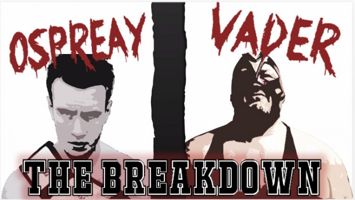 The Will Ospreay versus Big Van Vader: The Breakdown