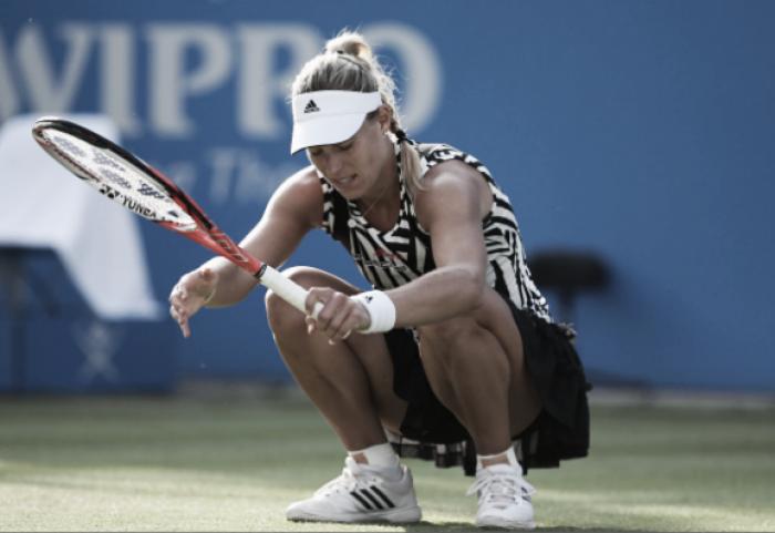 Angelique Kerber talks her struggles with handling the media after Australian Open win