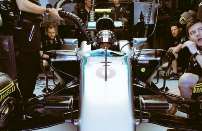 German GP: Advantage Rosberg in FP1