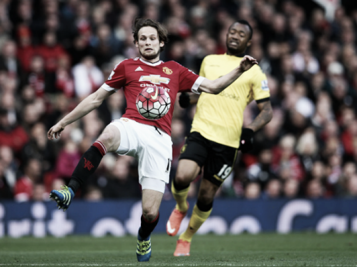 Daley Blind vows to work hard to keep his spot with Manchester United