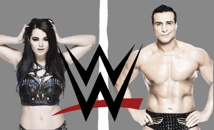 WWE Suspend Alberto Del Rio and Paige