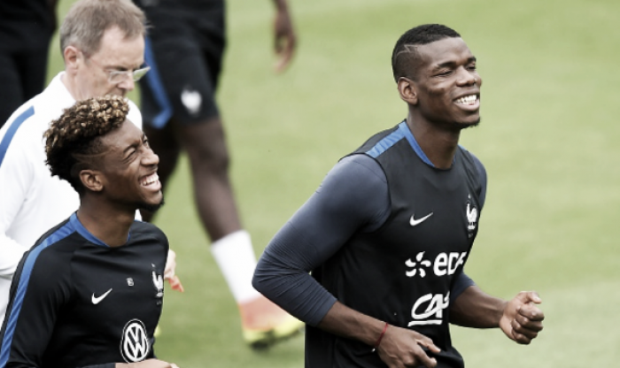 Paul Pogba receives high praise from France teammate Kingsley Coman