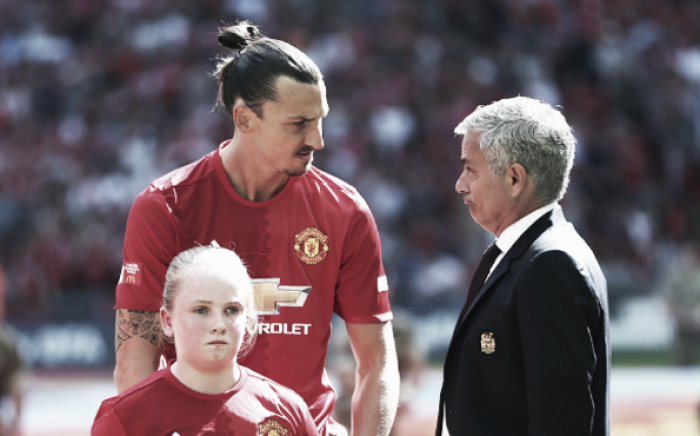 Jose Mourinho hints that Zlatan Ibrahimovic may stay longer than a year at United