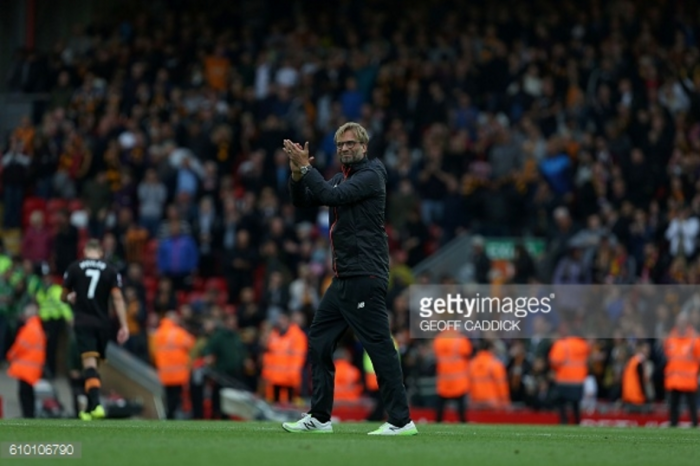 Liverpool were brilliant in the first-half against Hull, but we could've done better in the second, says Jürgen Klopp
