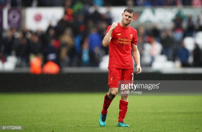 It was important to grind out a win at Swansea, says Liverpool's James Milner
