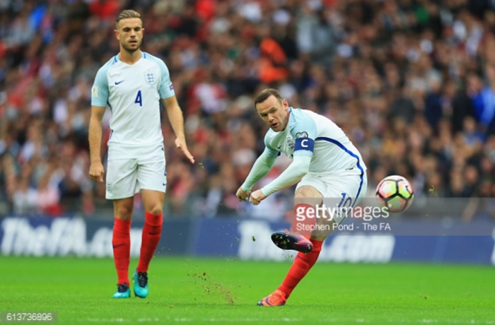 Jordan Henderson to captain England against Slovenia with Wayne Rooney benched