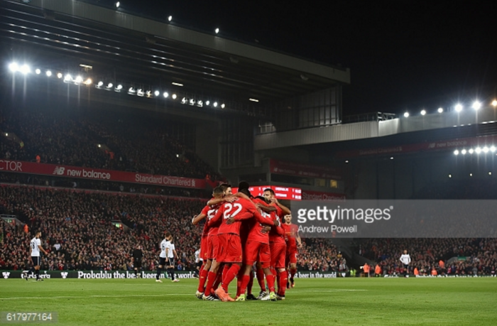 Liverpool drawn at home to Leeds United in EFL Cup quarter-finals