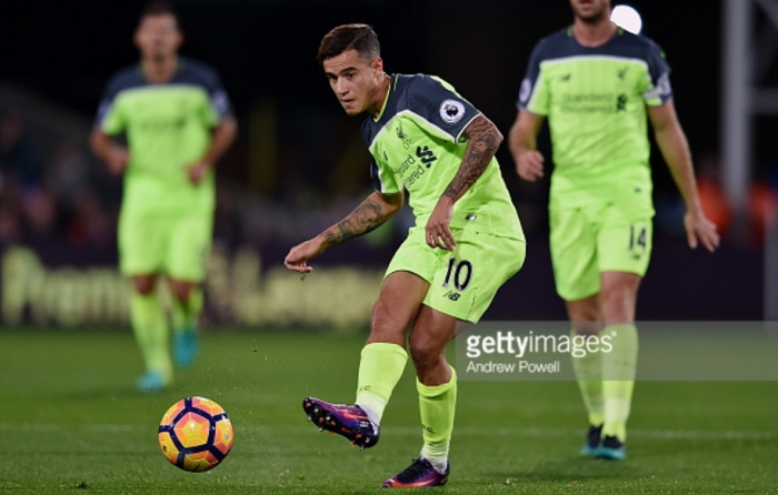 Lovren says Liverpool teammate Coutinho is currently the best player in the Premier League