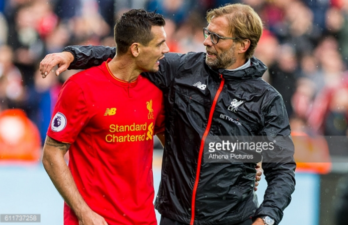 "Dejan Lovren getting ""better and better"" under Jürgen Klopp at Liverpool"