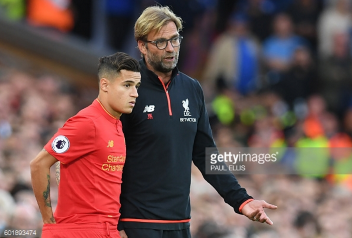 Liverpool duo Klopp and Coutinho nominated for Premier League monthly awards
