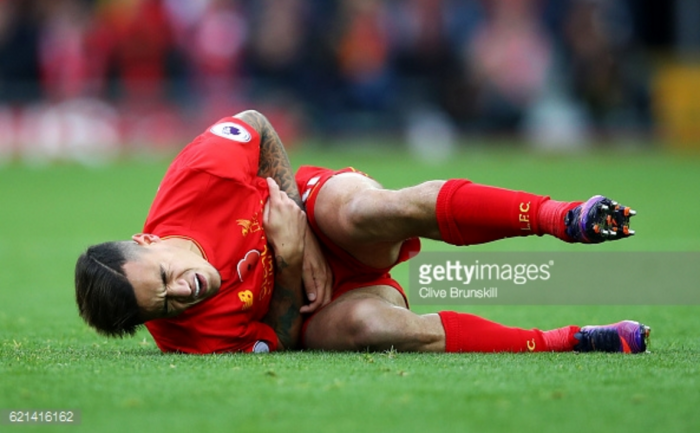 Philippe Coutinho a doubt for Liverpool's trip to Southampton