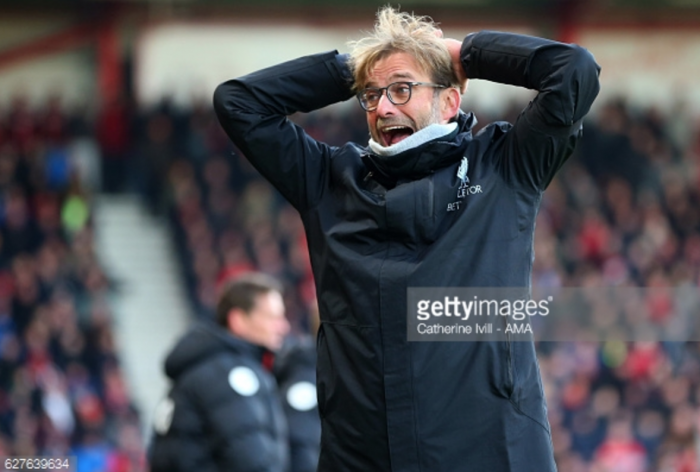 Liverpool boss Jürgen Klopp: I was not angry with Bournemouth defeat, it does not reflect our character