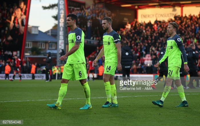 Jordan Henderson: Liverpool must move on from Bournemouth defeat