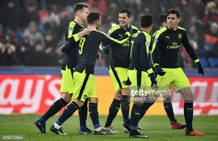 Who might Arsenal face in UEFA Champions League Last 16?