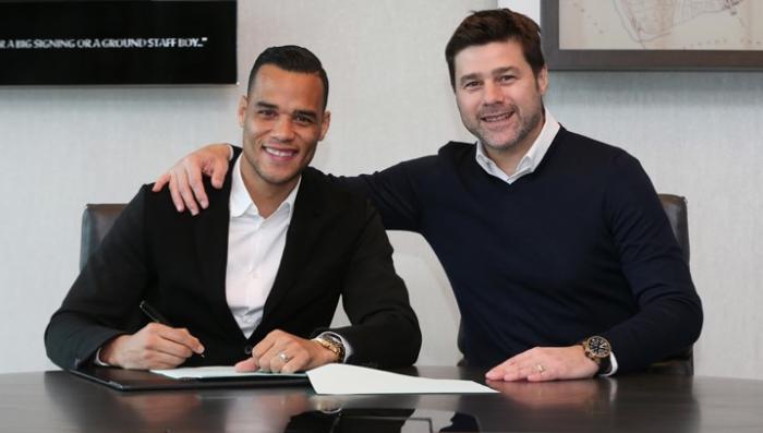 Michel Vorm signs contract extension at Tottenham