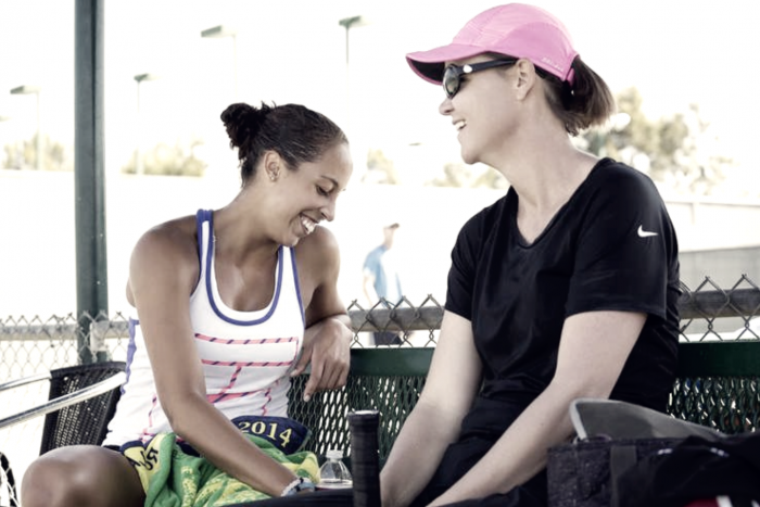 Madison Keys to work with Lindsay Davenport; announces she will miss Australian Open