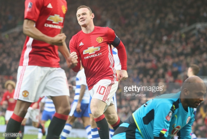 Manchester United 4-0 Reading: Rooney's record-equalling strike helps see FA Cup holders into fourth round with ease