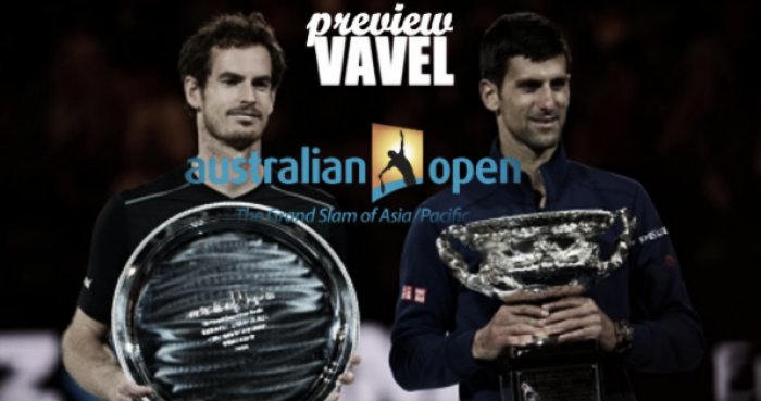 2017 Australian Open men's preview: Both Andy Murray and Novak Djokovic face early tests before potential finals showdown