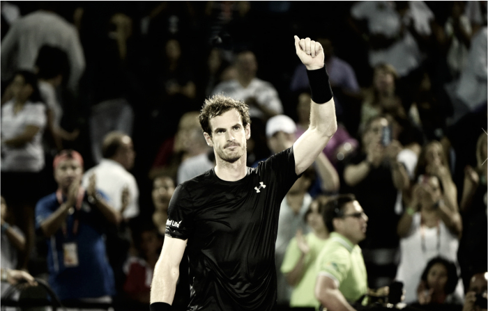Citing right elbow injury, Andy Murray withdraws from Miami Open