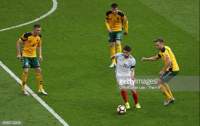Liverpool FC international round-up: Lallana lays on an assist as England overcome Lithuania