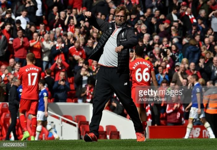 "Liverpool manager Jürgen Klopp delighted by ""fantastic goals"" in ""deserved"" derby win over ..."