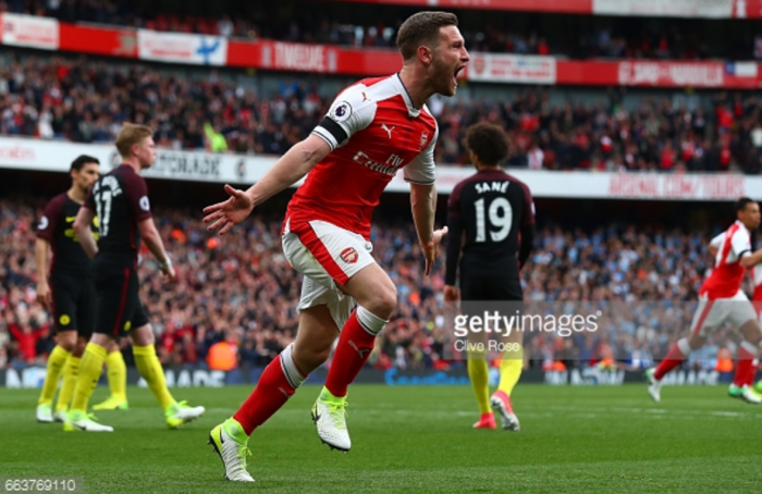 Arsenal 2-2 Manchester City Mustafi rescues point as Gunners twice peg back top-four rivals City