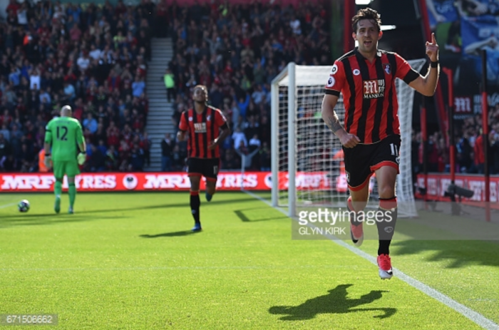 Bournemouth 4-0 Middlesbrough: Relegation-threatened Boro badly beaten as Cherries cruise to victory