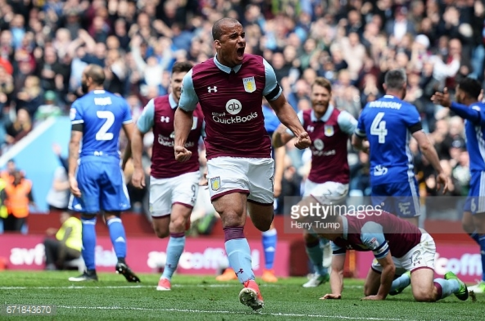 "Steve Bruce admits Aston Villa ""needed"" Gabby Agbonlahor after striker inspires derby win over Birmingham"