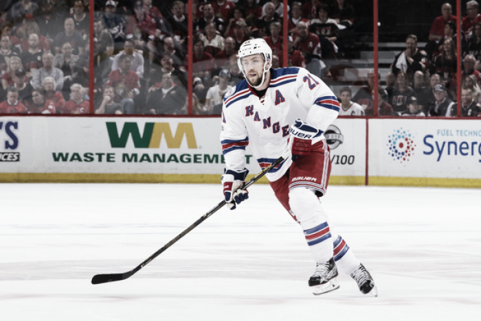 New York Rangers trade Derek Stepan, Antti Raanta to Arizona Coyotes for 7th overall pick, Anthony DeAngelo