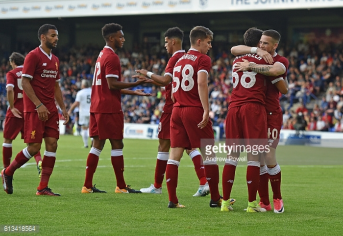 Tranmere Rovers 0-4 Liverpool: Reds run out comfortable winners in first pre-season friendly
