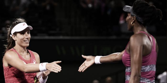 Result Johanna Konta vs Venus Williams of the 2017 Wimbledon Semifinals (0-2)