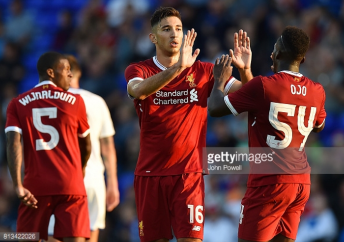 "Marko Grujić insists he's keen to have ""much better"" second season at Liverpool after Tranmere strike"