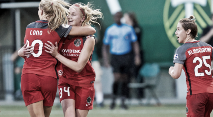 Portland Thorns come back to defeat the Washington Spirit 2-1