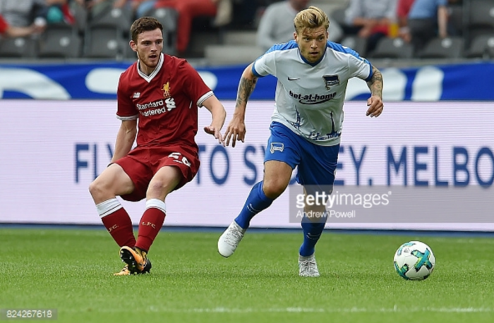 "Andrew Robertson reflects on ""brilliant"" Liverpool debut against Hertha Berlin"