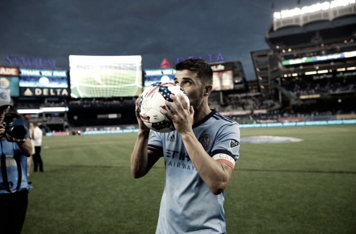 David Villa named MLS Player of the Week after heroics in Hudson River Derby