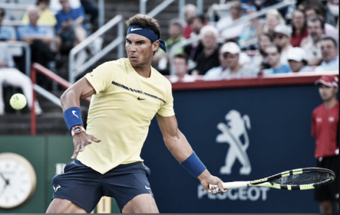 ATP Rogers Cup: Rafael Nadal cruises in opening match against Borna Coric